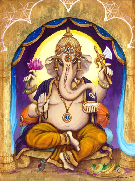 Ganesha at twilight