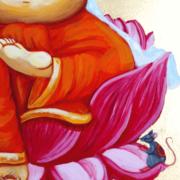 Ganesha Awakening print